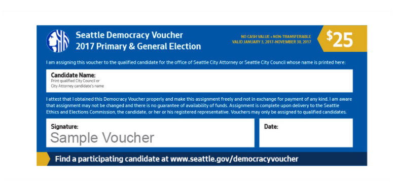 Democracy Vouchers - Washington Bus Education Fund
